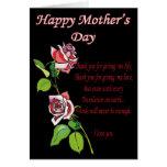 Poema feliz del día de madre felicitación