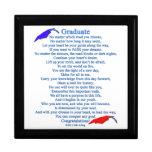 Poema graduado caja de joyas