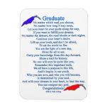 Poema graduado imán flexible
