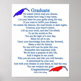 Poema graduado póster