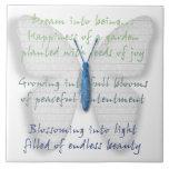 Poema ideal inspirado azulejo ceramica