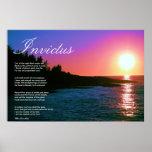 Poema inspirado del ~ de Invictus Póster