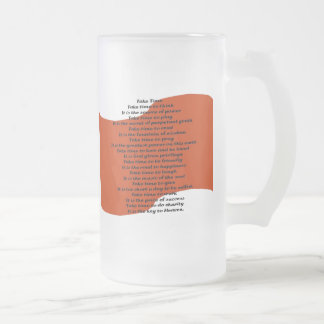 Poema inspirado tazas de café
