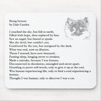 poema que es humano por Dale Candee Alfombrillas De Ratones