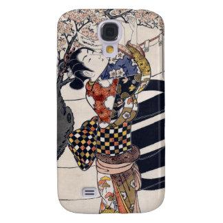 Poemas colgantes en un cerezo, Ishikawa Toyonobu Samsung Galaxy S4 Cover