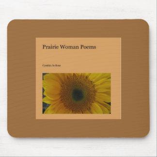 Poemas de la mujer de la pradera alfombrilla de raton