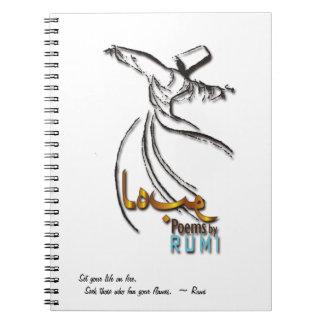 Poemas por RUMI - cuaderno del amor