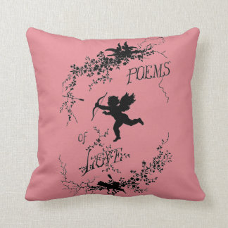 POEMS OF LOVE - throw pillow