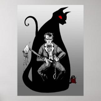 Poe's Black Cat Poster