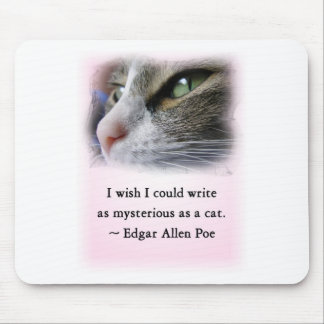 Poe's Cat Mouse Pad