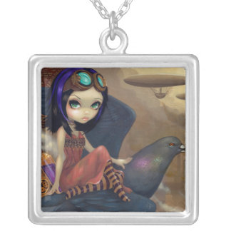 Poe's Flight NECKLACE steampunk urban fairy