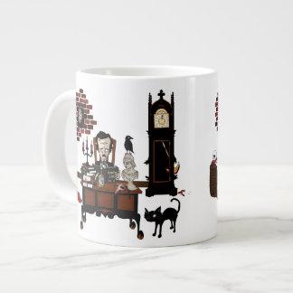'Poe's Madness' 20 Oz Large Ceramic Coffee Mug