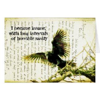 Poe's Raven Card