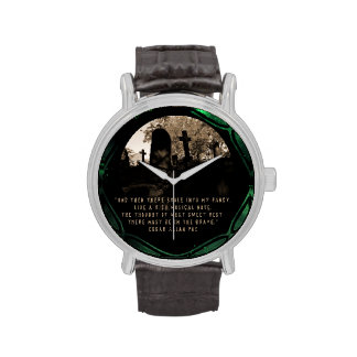 """Poe's """"The Grave"""" Wrist Watches"""