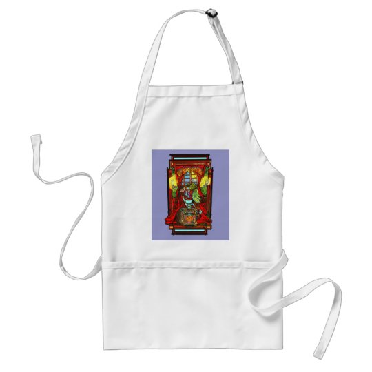 Poes The Raven Adult Apron
