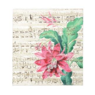 Poesía del cactus bloc de notas
