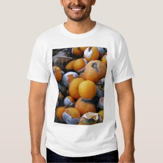 Poesía del tipo de la camiseta de la inmundicia - playeras