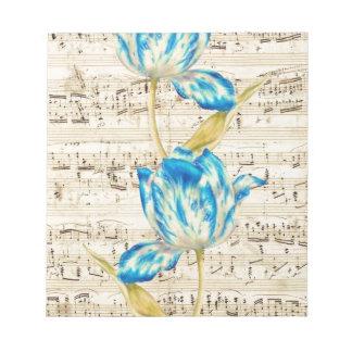 Poesía del tulipán bloc de notas