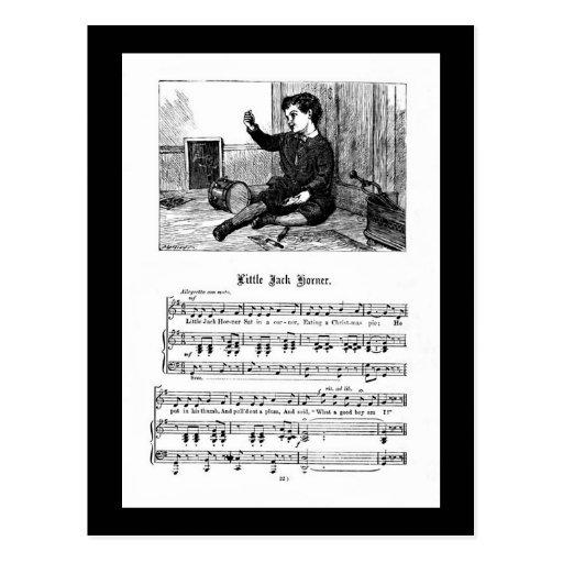 Poesía infantil Jack Korner Postales