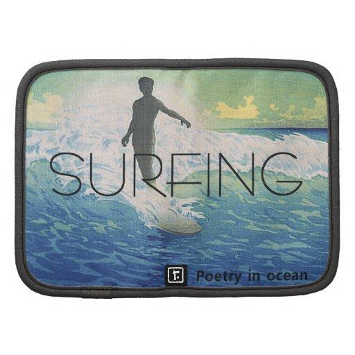 Poesía que practica surf SUPERIOR Planificador