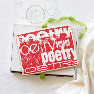 Poesía; Rayas del rojo del escarlata