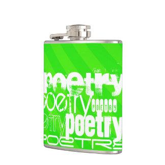 Poesía; Rayas verdes de neón