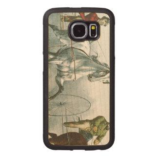 Poesía SUPERIOR del caballo Funda De Madera Para Samsung Galaxy S6