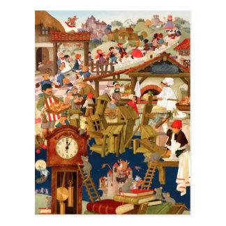 Poesías infantiles preferidas tarjeta postal