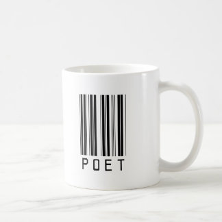 Poet Bar Code Classic White Coffee Mug