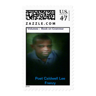 Poet Caldwell Lee Frenzy Postage Stamps