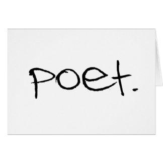 Poet Card