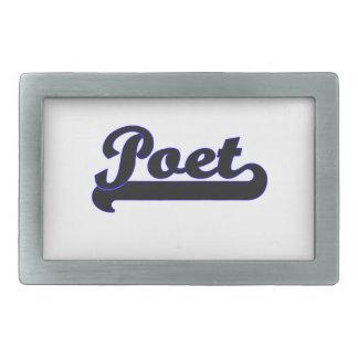 Poet Classic Job Design Belt Buckle
