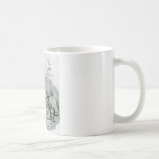Poet Composing a Classical Eclogue on the Quiet Coffee Mug