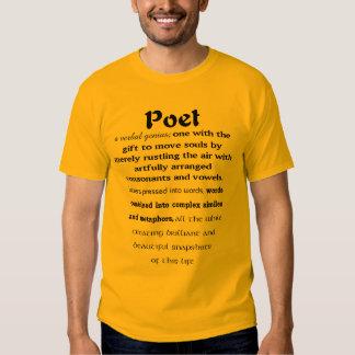 Poet Defined T Shirt