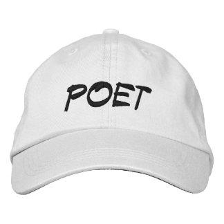 POET EMBROIDERED BASEBALL HAT