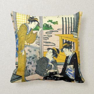 Poet Henjo 1795 Pillow