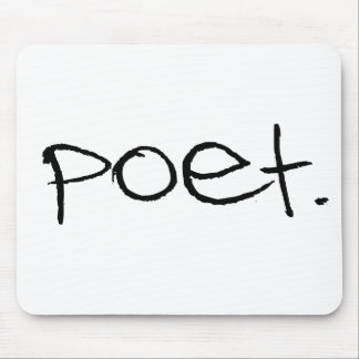 Poet Mouse Pad