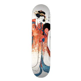 Poet Ono no Komachi 1804 Skateboard Deck