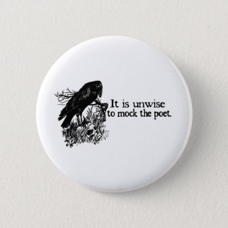Poet Pinback Button
