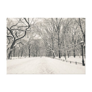 Poet s Walk - Central Park - New York City Gallery Wrapped Canvas