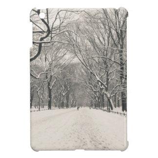 Poet s Walk - Central Park Winter Case For The iPad Mini