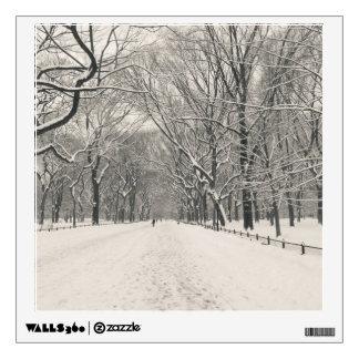 Poet s Walk - Central Park Winter Wall Skins