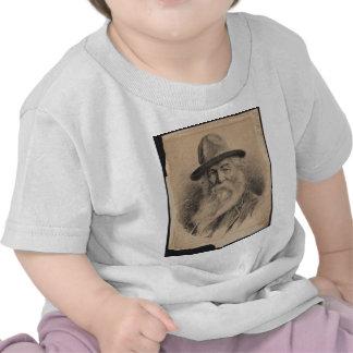 Poet Walt Whitman Portrait by Valerian Gribayedoff Tshirts