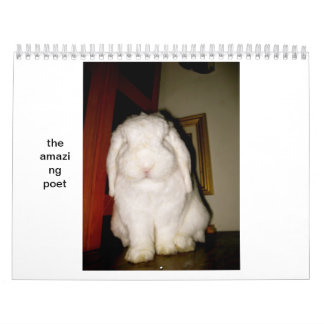 poeta asombroso calendario