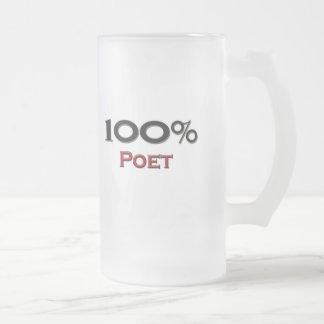 Poeta del 100 por ciento taza de café