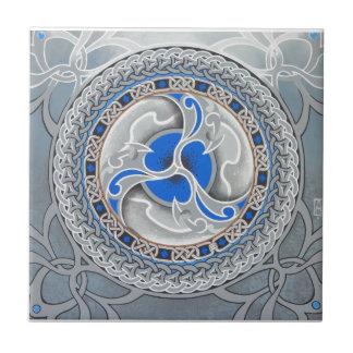 Poeta del guerrero azulejo cerámica
