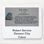 Poeta del Yukón del servicio de Roberto Alfombrilla De Raton