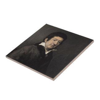 Poeta Moratín de Francisco Goya- Azulejo Cerámica