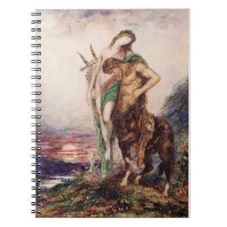 Poete Mort Porte par un Centaure Notebook