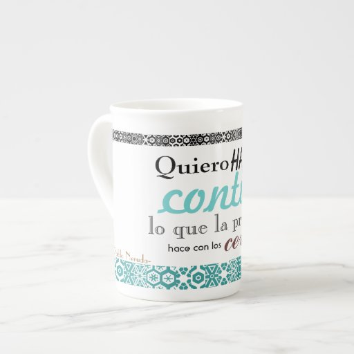 poetic cup porcelain mugs